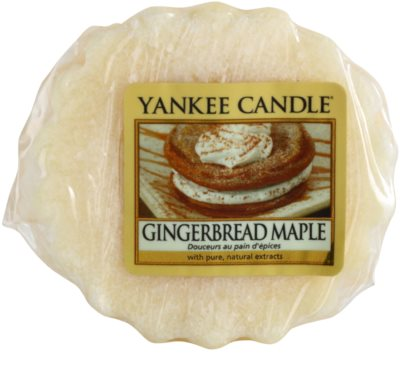 Yankee Candle Gingerbread Maple Wachs für Aromalampen