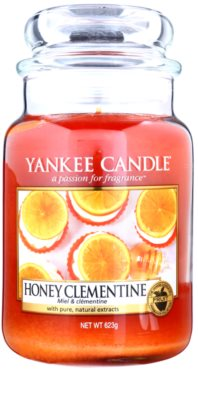 Yankee Candle Honey Clementine dišeča sveča   Classic velika