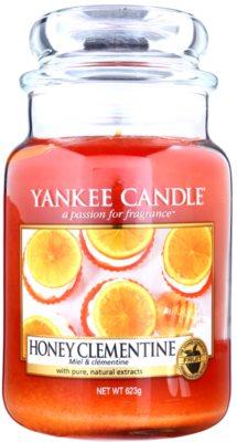 Yankee Candle Honey Clementine illatos gyertya   Classic nagy méret