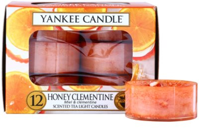 Yankee Candle Honey Clementine vela de té