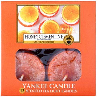 Yankee Candle Honey Clementine vela de té 2