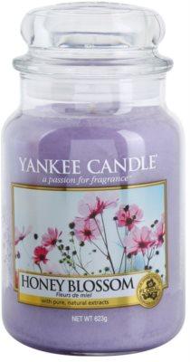 Yankee Candle Honey Blossom illatos gyertya   Classic nagy méret