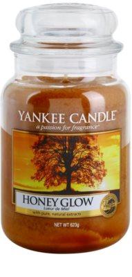 Yankee Candle Honey Glow Duftkerze   Classic groß