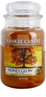 Yankee Candle Honey Glow vela perfumada   Classic grande
