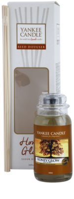 Yankee Candle Honey Glow Aroma Diffuser mit Nachfüllung  Classic