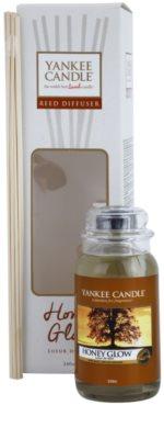 Yankee Candle Honey Glow aroma diffúzor töltelékkel  Classic