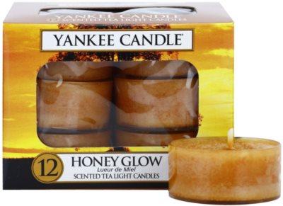 Yankee Candle Honey Glow vela de té
