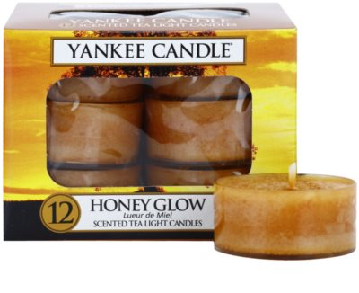 Yankee Candle Honey Glow vela do chá