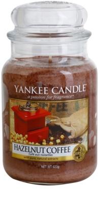 Yankee Candle Hazelnut Coffee ароматна свещ   Classic голяма