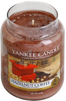 Yankee Candle Hazelnut Coffee vela perfumada   Classic grande 1
