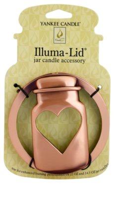 Yankee Candle Jarcon Illumalid декоративне кільце   для ароматизованої свічки Classic велика та середня підставка (Bronze)