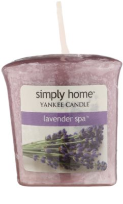 Yankee Candle Lavender Spa Votive Candle