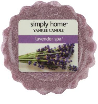 Yankee Candle Lavender Spa Wachs für Aromalampen