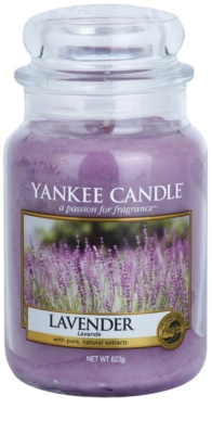 Yankee Candle Lavender vela perfumada   Classic grande