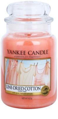 Yankee Candle Line - Dried Cotton vonná svíčka  Classic velká