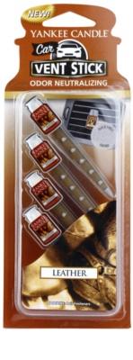 Yankee Candle Leather aроматизатор за автомобил