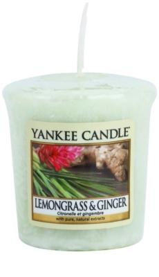 Yankee Candle Lemongrass & Ginger votivní svíčka