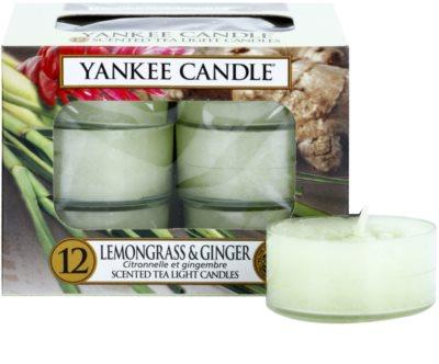 Yankee Candle Lemongrass & Ginger čajová svíčka