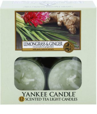Yankee Candle Lemongrass & Ginger vela do chá 2