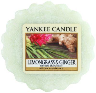 Yankee Candle Lemongrass & Ginger vosek za aroma lučko
