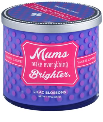 Yankee Candle Lilac Blossoms vela perfumada    (Mums Make Everything Brighter)