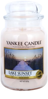 Yankee Candle Lake Sunset świeczka zapachowa   Classic duża