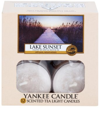 Yankee Candle Lake Sunset świeczka typu tealight 2