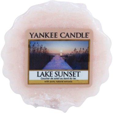 Yankee Candle Lake Sunset Wachs für Aromalampen