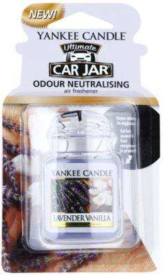 Yankee Candle Lavender Vanilla ambientador para coche   de suspensión