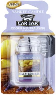 Yankee Candle Lemon Lavender illat autóba   felakasztható autóillatosító