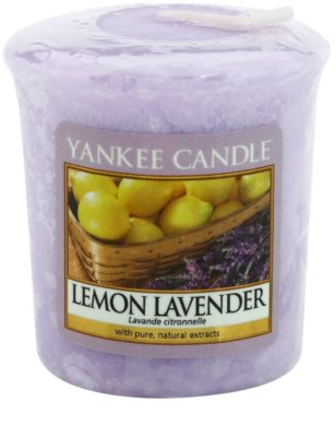 Yankee Candle Lemon Lavender вотивна свічка