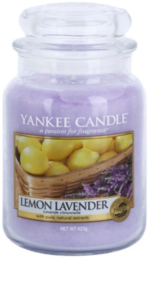 Yankee Candle Lemon Lavender vonná sviečka  Classic veľká