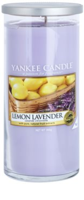 Yankee Candle Lemon Lavender vela perfumada   Décor Grande