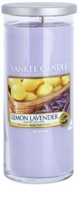 Yankee Candle Lemon Lavender ароматна свещ   Декор голяма