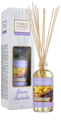 Yankee Candle Lemon Lavender Aroma Diffuser mit Nachfüllung  Classic