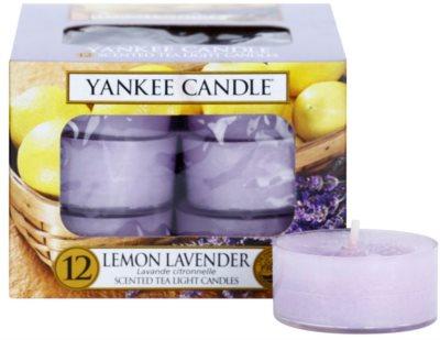 Yankee Candle Lemon Lavender čajna sveča