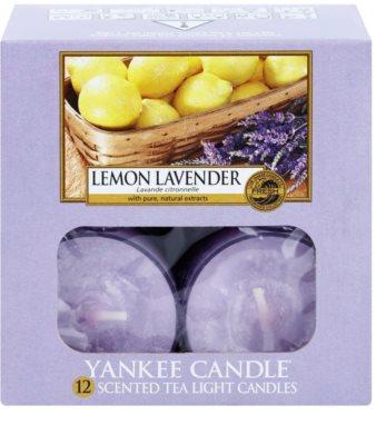 Yankee Candle Lemon Lavender čajová svíčka 1