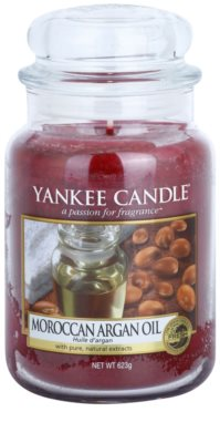 Yankee Candle Moroccan Argan Oil świeczka zapachowa   Classic duża