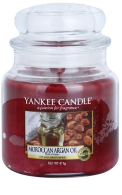 Yankee Candle Moroccan Argan Oil ароматизована свічка   Classic  середня