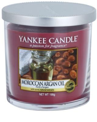 Yankee Candle Moroccan Argan Oil ароматизована свічка   Декорація маленька