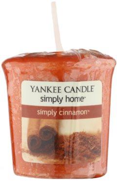 Yankee Candle Simply Cinnamon votivní svíčka