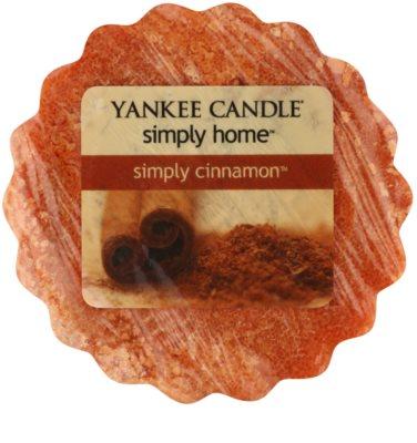 Yankee Candle Simply Cinnamon illatos viasz aromalámpába