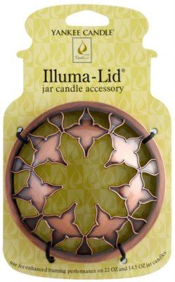 Yankee Candle Moroccan Copper nakładka ozdobna   na dużą i średnią świecę zapachową Classic (Bronze)