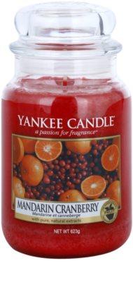Yankee Candle Mandarin Cranberry ароматна свещ   Classic голяма