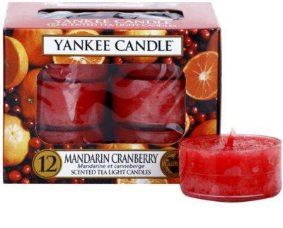 Yankee Candle Mandarin Cranberry čajová svíčka