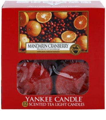 Yankee Candle Mandarin Cranberry čajová svíčka 2