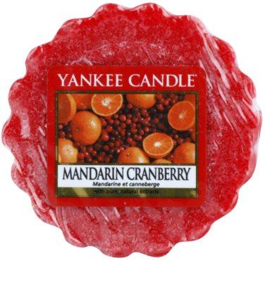 Yankee Candle Mandarin Cranberry Wachs für Aromalampen