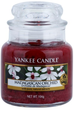 Yankee Candle Madagascan Orchid vela perfumado  Classic pequeno