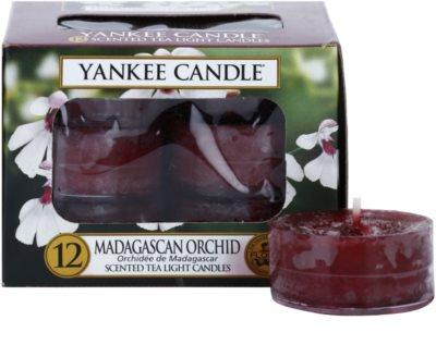 Yankee Candle Madagascan Orchid vela de té