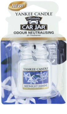 Yankee Candle Midnight Jasmine illat autóba   felakasztható autóillatosító